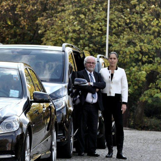 De medewerkers van Taxi Eindhoven